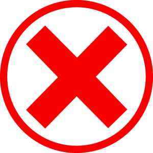 Cross icon - JCSI Recruitment