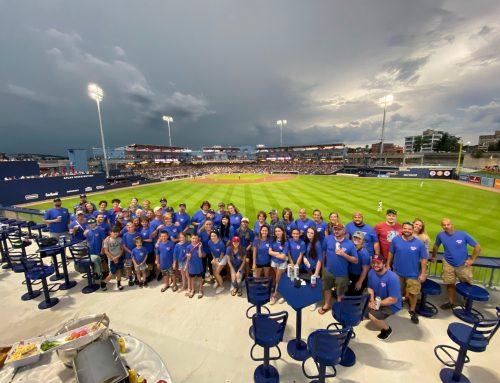 JCSI Family Shows Worcester/Boston Pride at Woo Sox Game